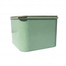 Контейнер Эко для хранения сыпучих продуктов Зеленый