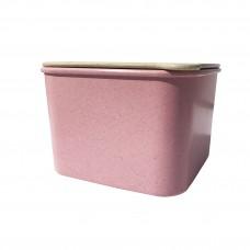 Контейнер Эко для хранения сыпучих продуктов Розовый