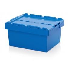 Ящик пластиковый MBD6429 с крышкой 600х400х290мм