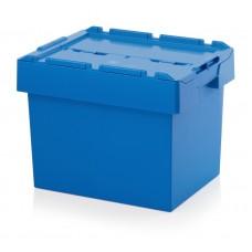 Ящик пластиковый MBD6442 с крышкой 600х400х440мм