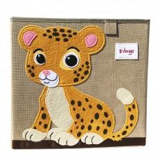 Корзина для игрушек Леопард