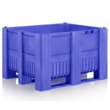 Ящик пластиковый цельнолитой CB3 c крышкой 1200x1000x740мм