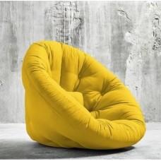 Кресло-трансформер, желтый, XL, оксфорд