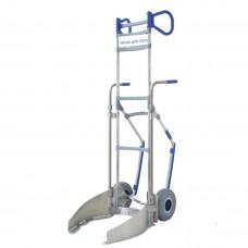 Ручная тележка для перевозки шин диаметром от 500 до 700 мм, алюминий, тип 546810 25